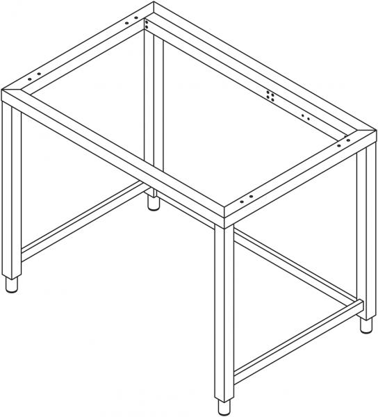 Sonder - Untergestell für 7 x GN 2/1 Geräte