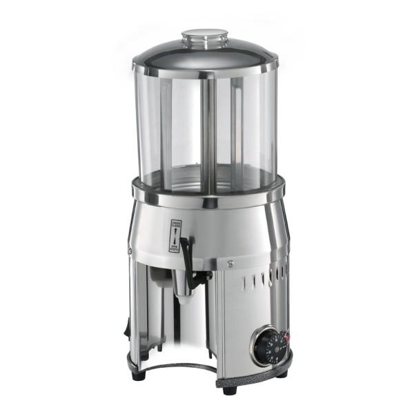 Hotdrink Dispenser / Schoko Dispenser 4,0 ltr., silber mit Rührflügel