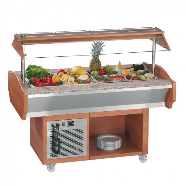 Gastro Salatbar - Kühlbuffet 4, Ecoline