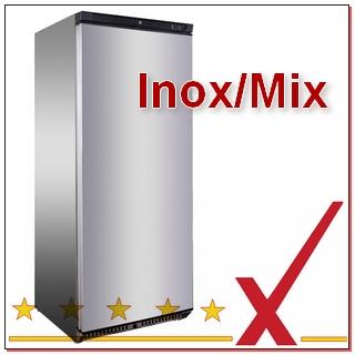 Teil-Edelstahl-Kühlschränke