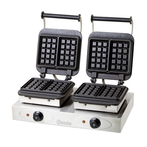 Bartscher Waffeleisen mit 2 Brüssler Platten - 370163