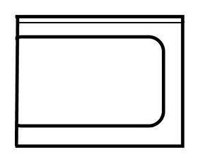 Edelstahl Ausgangstisch rechts ECO-Line für die Gastronomie