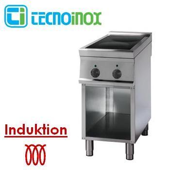 Gastronomie-Induktionskochfeld 2 Heizzonen 10 kW Tecnoinox PIN4FE9