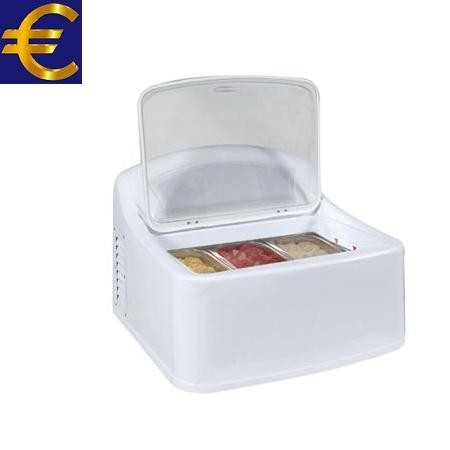 Auftisch-Speiseeisvitrine Eco-Line II 3x5 Liter Tischgerät