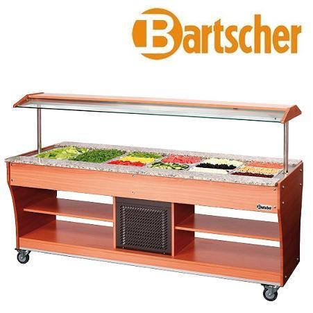 Bartscher 125523 Gastro Buffet Salatbar 6x GN 1/1 Kalte Theke