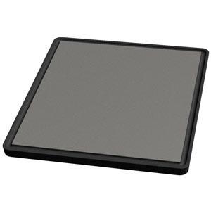 Tecnoinox Grillplatten-Aufsatz, glatt, Einzelrost für Gasherde, 280x320mm