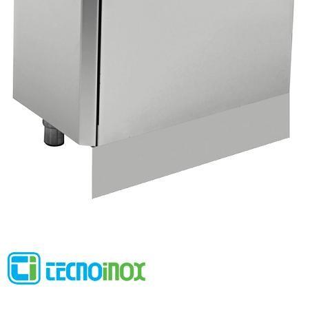 Tecnoinox Kochblock-Sockelblende seitlich für Serie Profi 900 - 1 Paar rechts & links