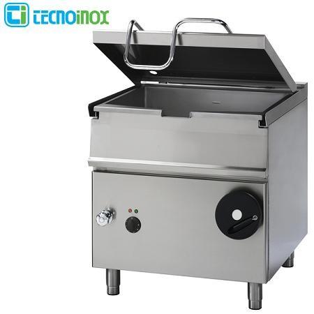 Kipp-Pfanne Tecnoinox 50 Liter BS8IE7 Elektro-Kipppfanne