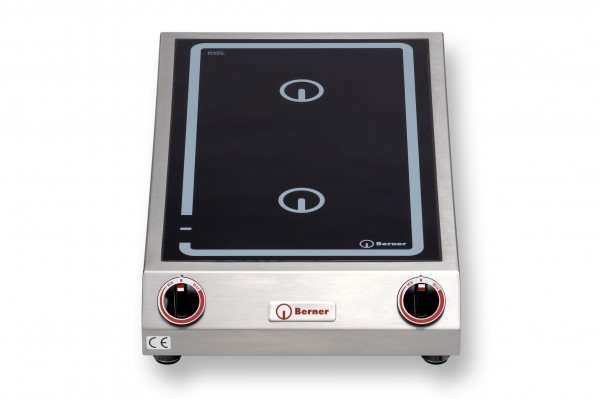 Berner BI2K3.5 Tisch-Induktionsdoppelkochplatte