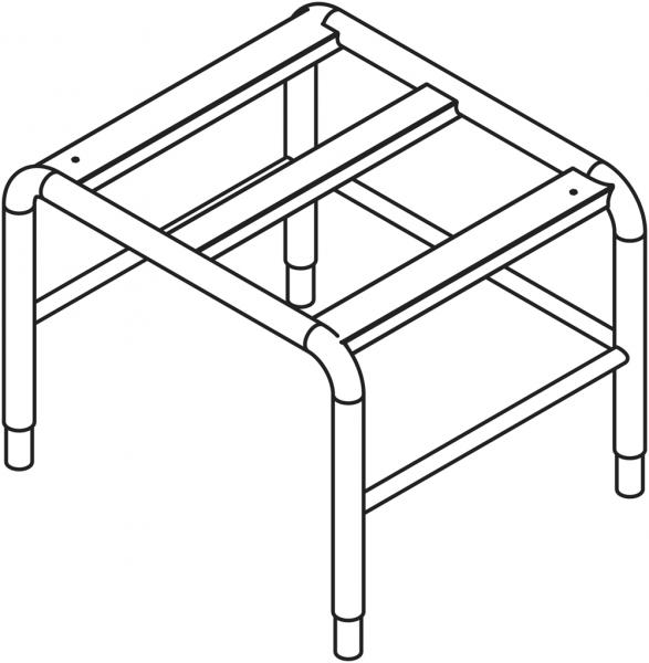 Untergestell für 10 x GN 1/1 Geräte