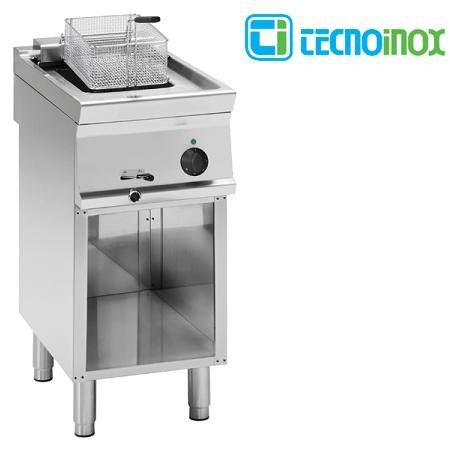 Elektro-Fritteuse Tecnoinox 1x8 Liter FR4FE7 Gastronomie-Friteuse