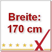 Breite 170 cm