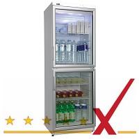 COOL/Nordcap Glastürkühlschrank