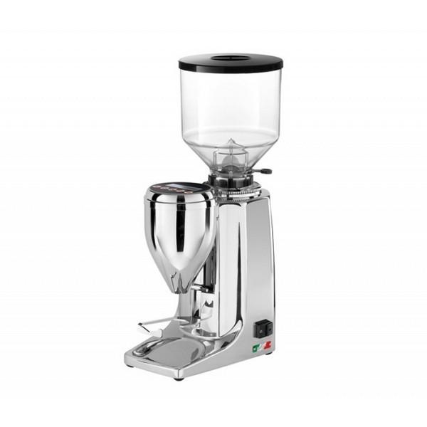 Quamar Kaffeemühle / Espressomühle MG80E Chrome elektronisch