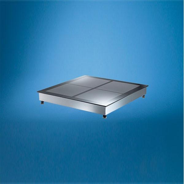 Scholl Auftisch Induktions-Speisewärmer mit 4 Wärmezonen