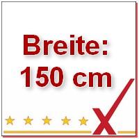 Breite 150 cm