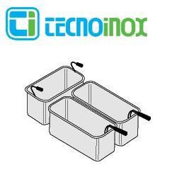 Tecnoinox Nudelkorb-Set 1 x GN 1/3 + 2 x GN 2/6 x 200 für 40L-Becken der Gastrogeräte-Serie Profi 90
