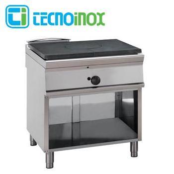 Gas-Glühplattenherd 11 kW Tecnoinox PP8FG9 - Gastronomie-Fortkochplatte