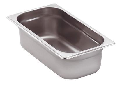 GN-Behälter Edelstahl 1/3 6,5 cm, 2,5 Liter