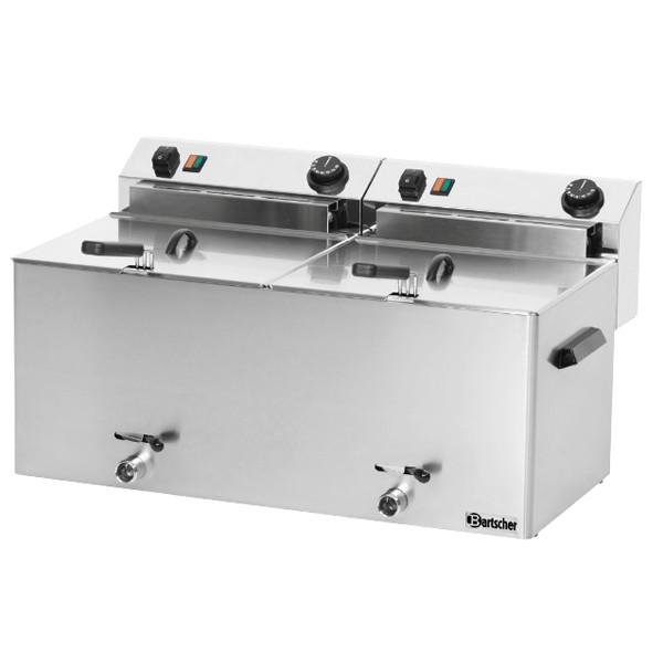 Bartscher Fritteuse Professional II mit 2x10L Behälter, TG - 162910