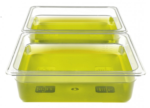 GN-Behälter Kunststoff 1/2 6,5 cm, 3,2 Liter