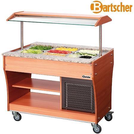 Bartscher 125507 Gastro Buffet Salatbar 3x GN 1/1 Kalte Theke