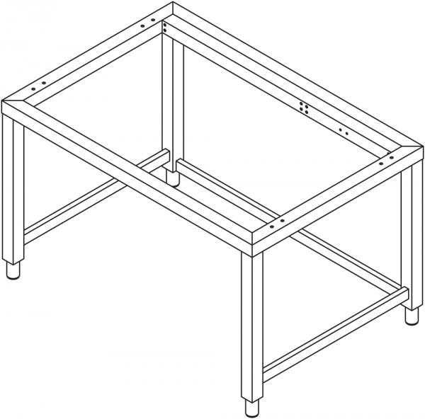Untergestell für 10 x GN 2/1 Geräte