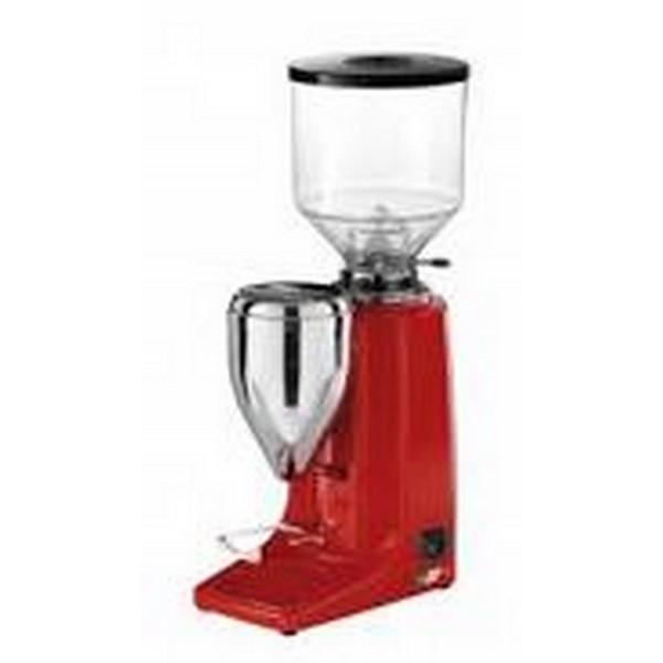 Quamar Kaffeemühle / Espressomühle MG80E Rot elektronisch