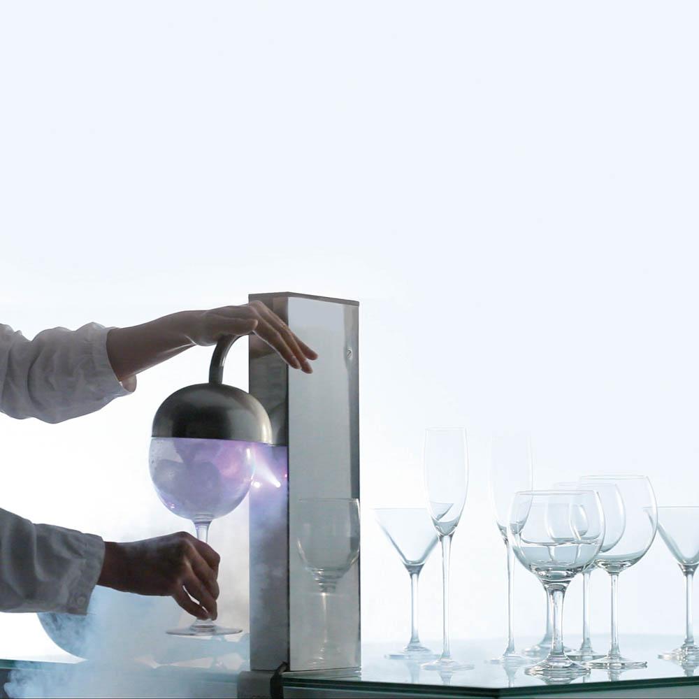 Glasfroster