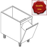 Abfallbehälter-Unterbauelemete Abfallkipper