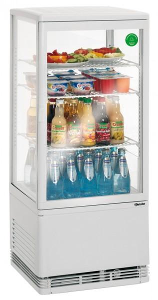 Bartscher Mini Kühlvitrine 78 Liter, weiß, für die Gastronomie