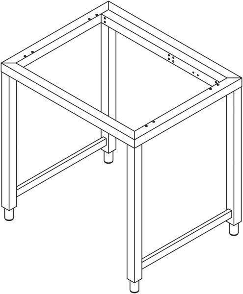 Sonder - Untergestell für 7 x GN 1/1 Geräte