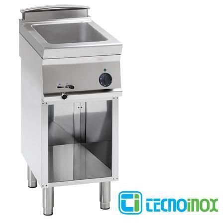 Elektro-Bain-Marie Tecnoinox BM4FE7 1 x GN 1/1 Gastronomie-Speisenwärmer
