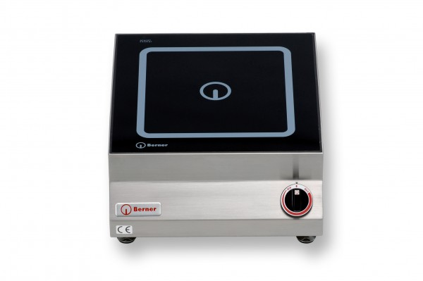 Berner BI1FP7 Tisch-Induktionskochplatte quadratisch