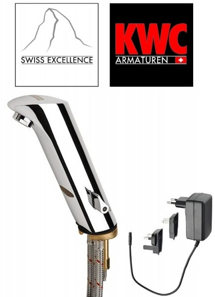 kwc130 ber hrungslose infrarot armatur f r. Black Bedroom Furniture Sets. Home Design Ideas