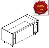 Wärmeschrank-Unterbauten mit Schiebetüren
