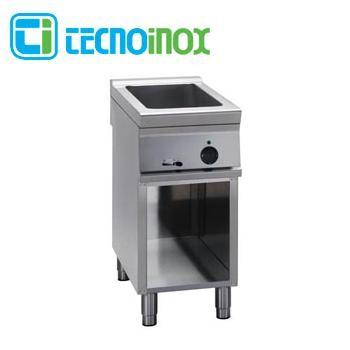 Elektro-Bain-Marie Tecnoinox BM4FE9 4 x GN 1/3 (GN 1/1 + GN 1/3) Gastronomie-Speisenwärmer