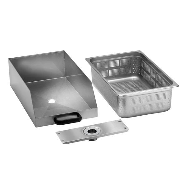 Fimar Kasten mit Filter für Kartoffelschäl- und Muschelwaschmaschinen