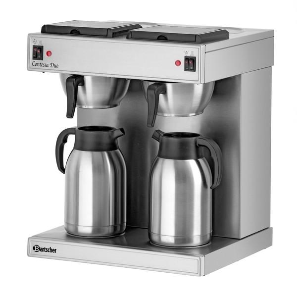 Doppel-Filterkaffeemaschine Bartscher Contessa Duo - A190049