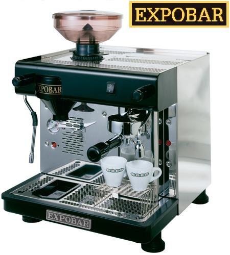 expobar office pulser professionelle 1 gruppige espressomaschine mit mahlwerk gastro. Black Bedroom Furniture Sets. Home Design Ideas