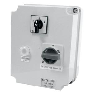 Schaltkasten für Ventilatoren und Airboxen, 400V / 9 A, auch für Gas