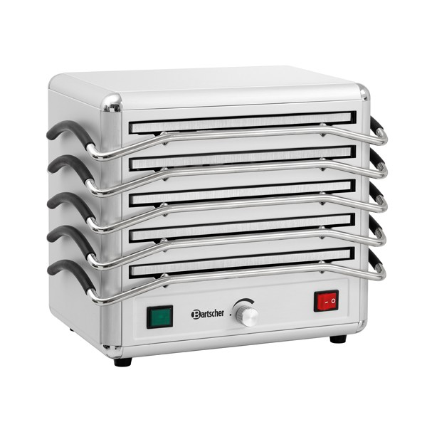 Bartscher Rechaud mit 5 Wärmeplatten - 120803