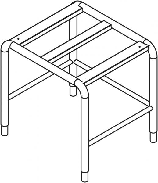 Untergestell für 5 und 7 x GN 1/1 Geräte