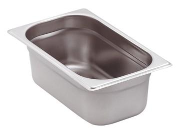 GN-Behälter Edelstahl 1/4 15 cm, 4 Liter