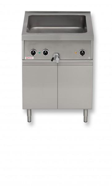 Berner BWBKTD70WS Bain-Marie GN2/1 mit Wärmeschrank im Unterbau