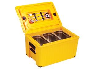 Kunststoff Thermoport 1 x GN 1/1 20 cm, unbeheizt, Gastronomie Speisentransportbehälter, Toplader