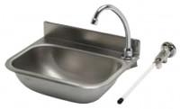 Handwaschbecken mit Kniebetätigung IP0030 38 x 29 cm