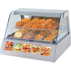 Neumärker Heiße Theke VVC 80 / Warmhaltevitrine 2 x GN 1/1 für den Gastronomiegebrauch