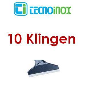 Tecnoinox Reinigungsschaber-Ersatzklingenset 10 Stück für Griddleplatten
