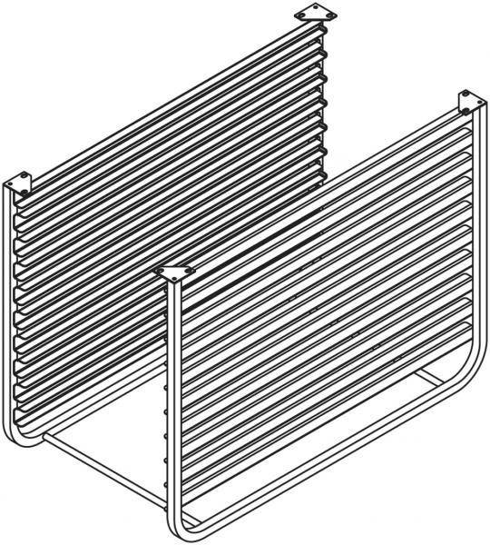 GN - Schienen für Untergestell NSR071